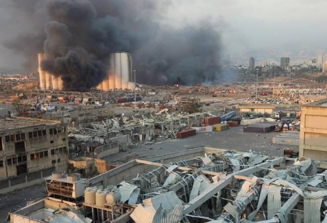 Beirut Blast That Left A Trial Of Devastation
