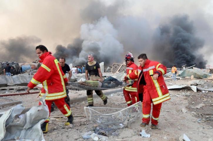 Beirut Blast Rescue Team