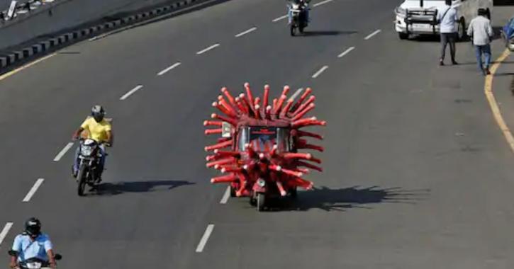 Chennai COVID-19 Lockdown Traffic