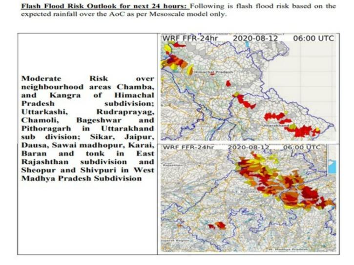 Uttarakhand,  Uttarakhand Rains,  Uttarakhand Floods,  Uttarakhand Rain Prediction,  Uttarakhand Rain IMD