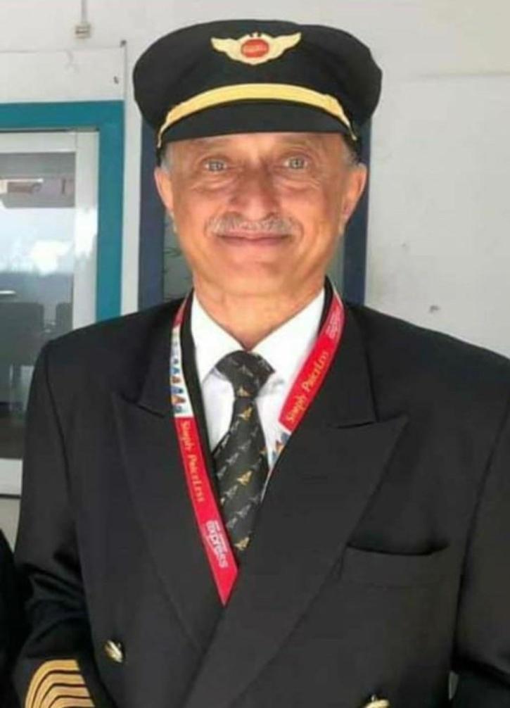 Late Air India Pilot Deepak Sathe