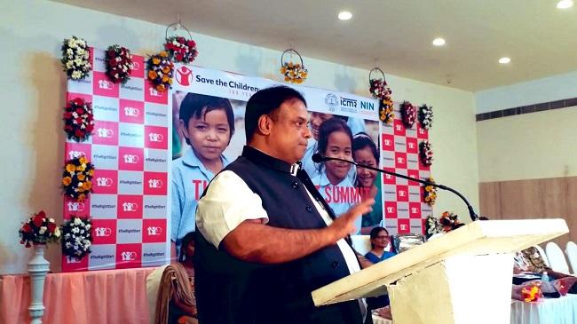 Karnataka Child Rights Commission Chairman Dr Antony Sebastian