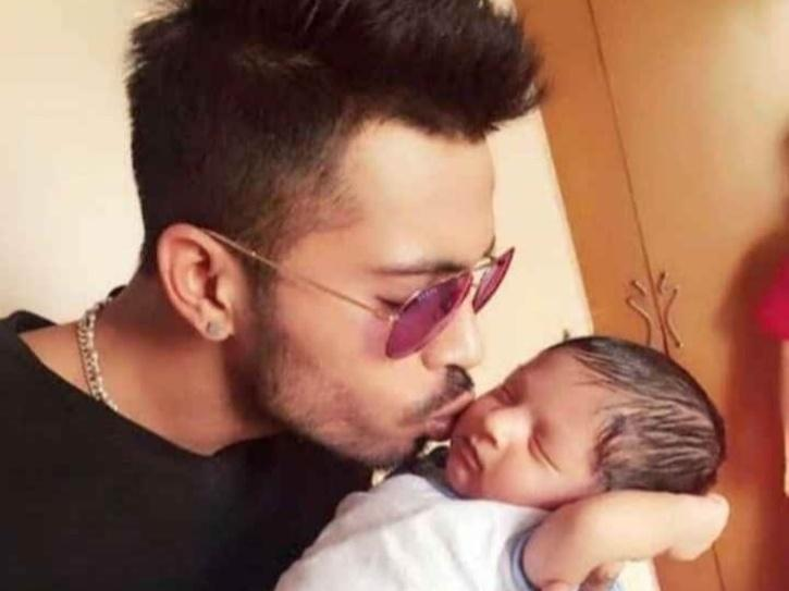 Hardik Pandya Shares Image Of His Baby Boy