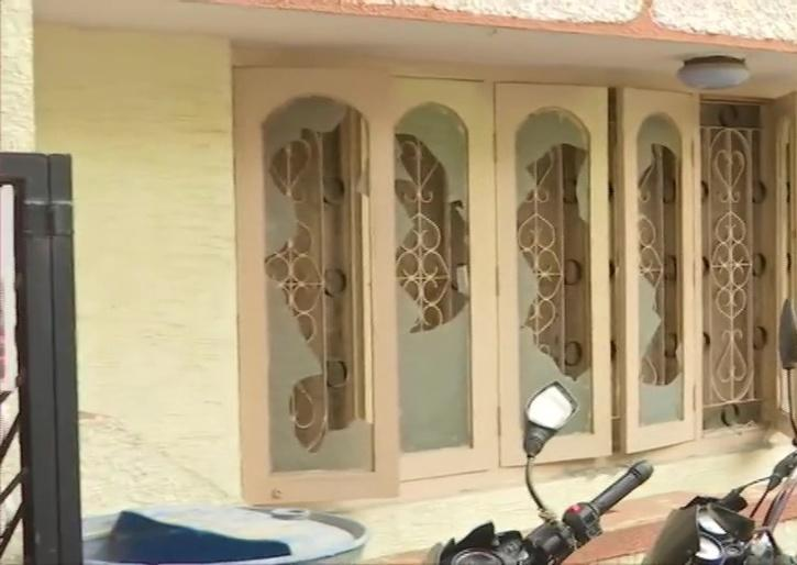 MLA house vandalized by Rioters