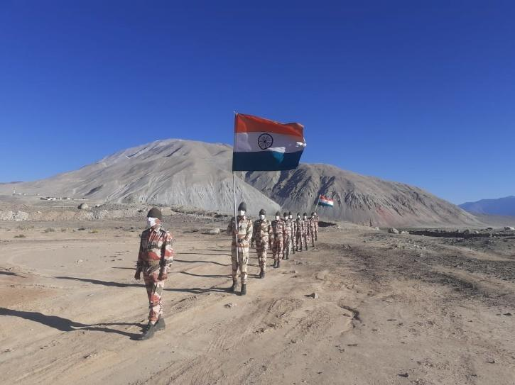 ITBP, ITBP Ladakh, Independence Day, Independence Day Celebrations, Independence Day Ladakh, India China Clashes