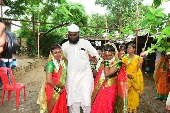 Bababhai Pathan, Bababhai Pathan Hindu Girls, Rakhi Sister, Ahmednagar, Maharashtra