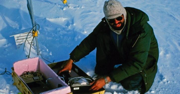 arctic ice caps melting nasa data global warming