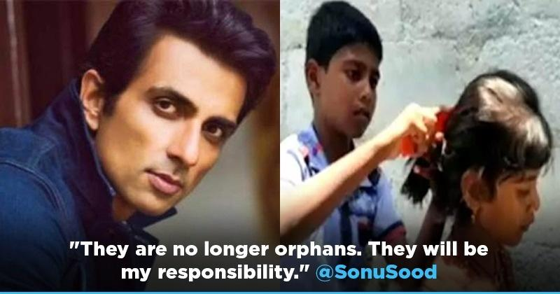 Sonu Sood Adopts 3 Children From Yadadari District In Telangana After They Lose Their Parents