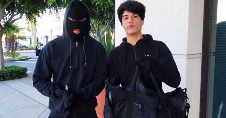 stokes twins bank prank video