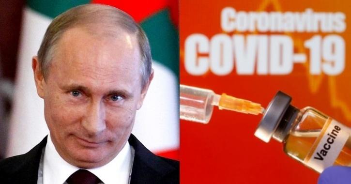 vladimir putin covid-19 russia corona vaccine news