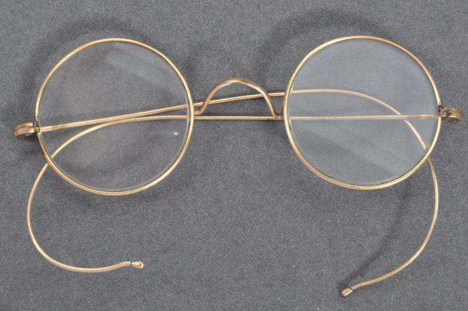 Glasses belonging to mahatma gandhi