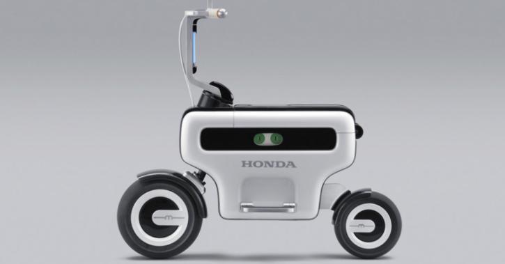 Honda Foldable Electric Scooter, Honda Scooter, Honda Motocompacto, Honda Motor Compo Concept, Honda Patent, Electric Scooter, EV News