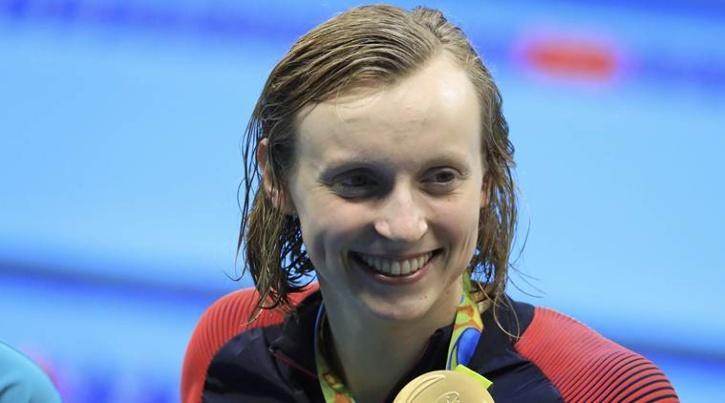 Olympic gold medalist Katie Ledecky