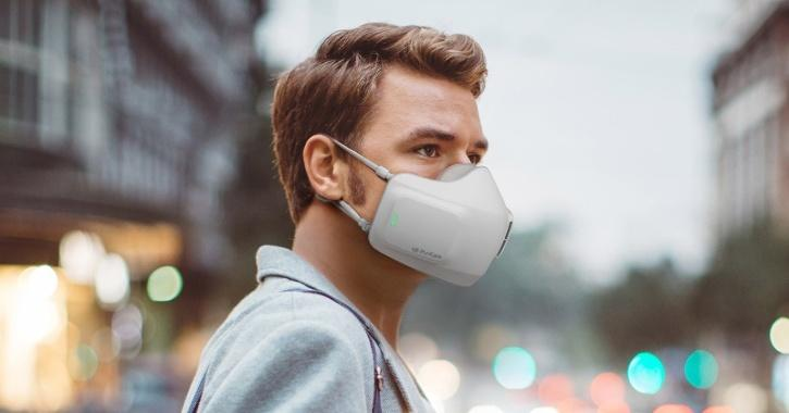 LG Face Mask, Battery Powered Mask, HEPA Filter Mask, LG PuriCare Wearable Air Purifier, Latest Face Mask, Innovative Face Masks, Covid-19, Tchnology News