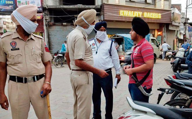 Lockdown Violators In Punjab Fined