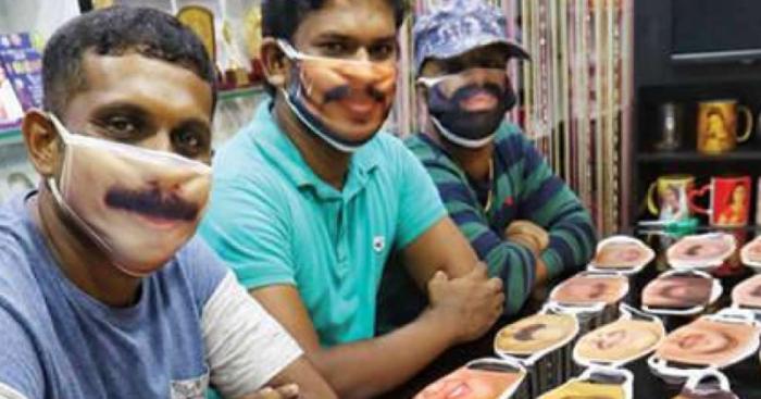 Kerala Photographer Prints Masks With People