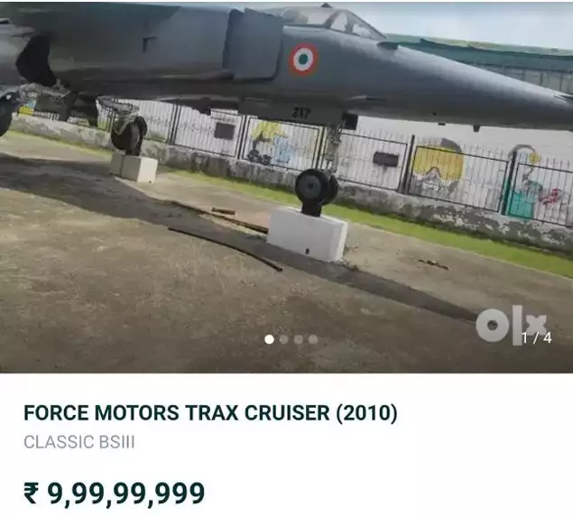 MiG-23 put up for sale