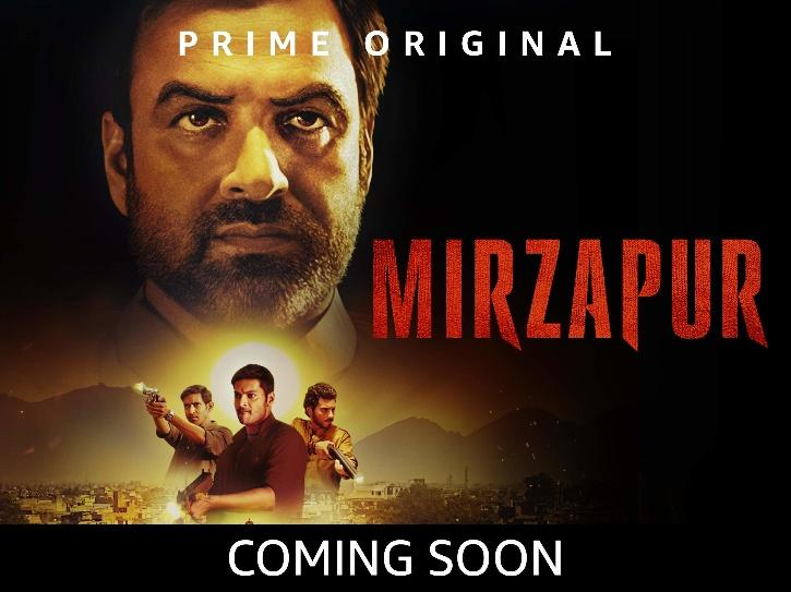 Mirzapur Amazon Prime: best adult web series