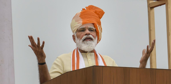 PM Modi address from Red Fort