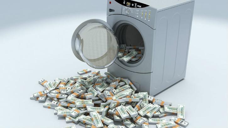 Money in washing machine