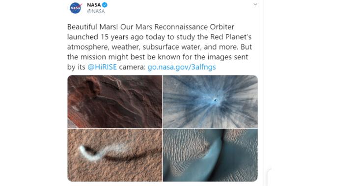 NASA Mars Images, Mars Pictures, NASA Mars Orbiter, NASA Mars Mission, Space News, Technology News