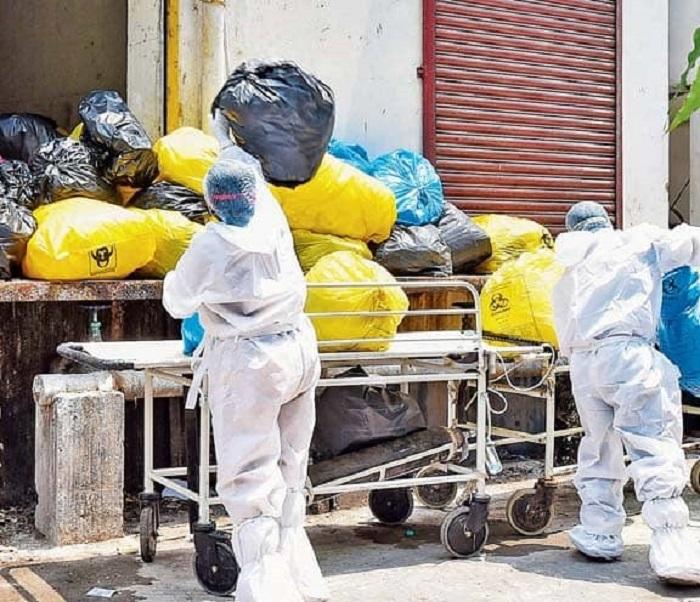 PPE kits disposal