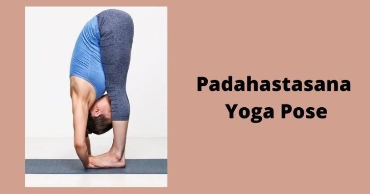 padahastasana yoga pose