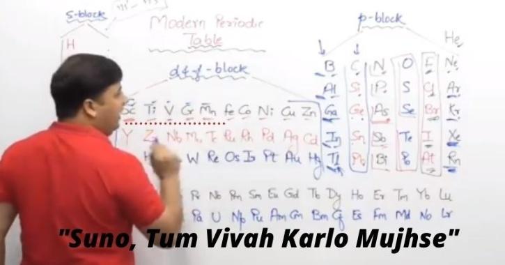 Jugaadu chemistry teacher