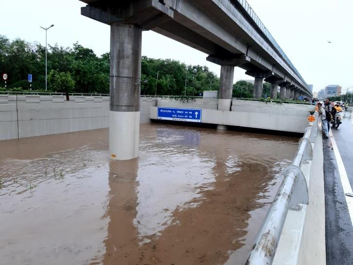 Gurgaon City Flooded After August 19th Rains