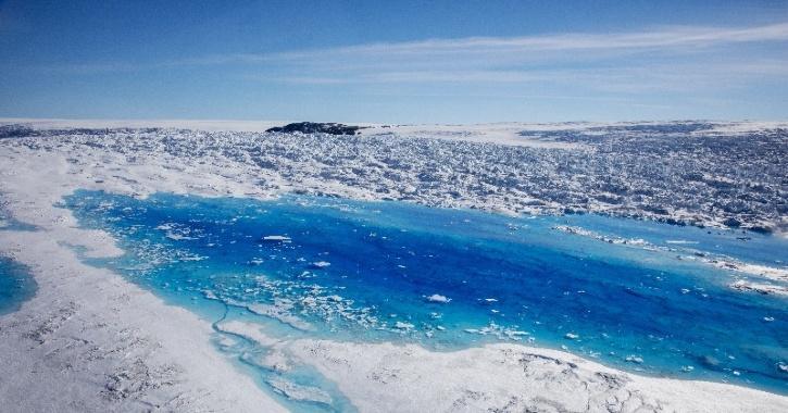 greenland glacier melt global warming