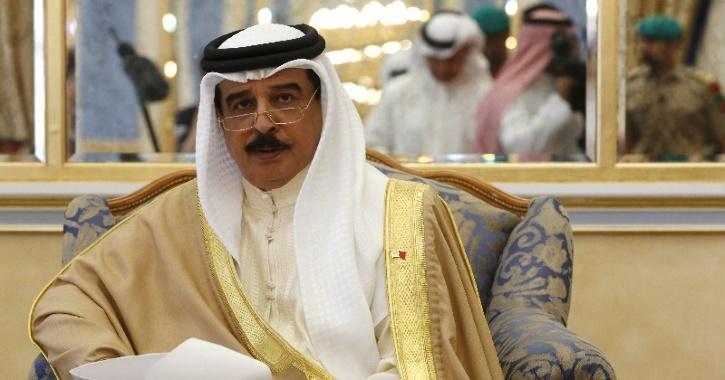 Bahrain's King Hamad bin Isa al Khalifa