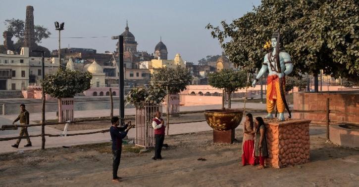 Lord Ram statue Ayodhya