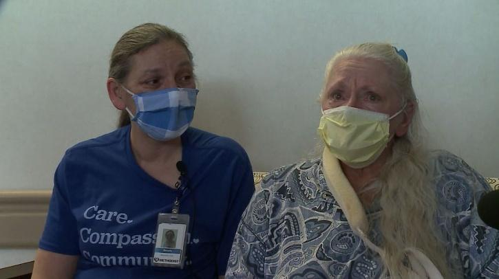 Sisters who were separated in 1967, reunited