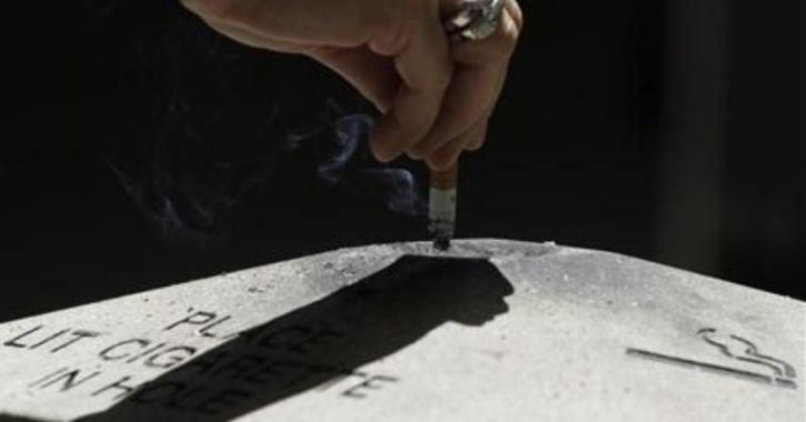 Smoking Kerala Man
