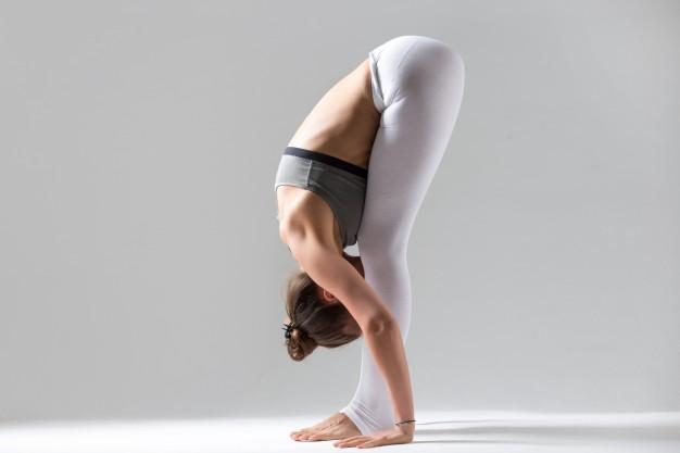 standing forward bend yoga