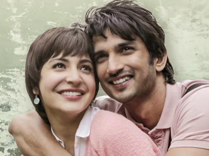 Sushant and Anushka in PK.