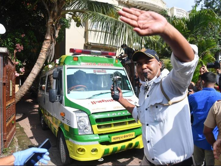Ambulance Driver Who Ferried Sushant Singh Rajput