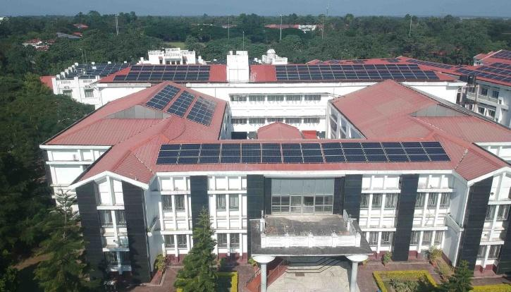 Tezpur University, Sustainability, Solar Power, Tezpur University Solar, Tezpur University Renewable Energy, Renewable Energy India