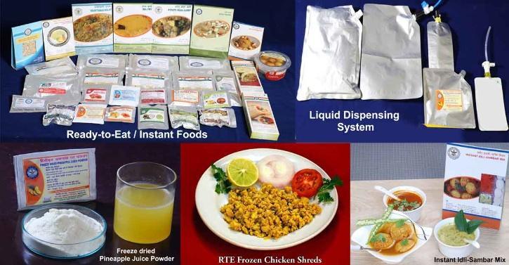 Instant RTE food