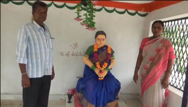 Telangana man builds temple of love for dead wife