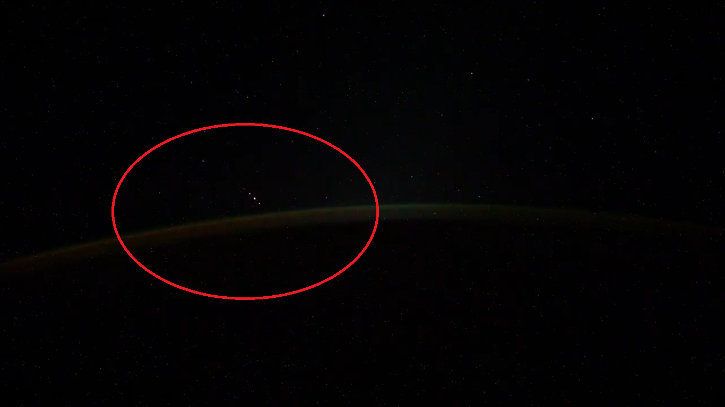 Russian Cosmonaut Captures UFO Footage From International Space Station