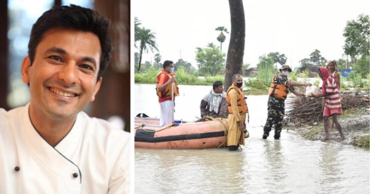 Chef Vikas Khanna Does It Yet Again, Pledges Over 2 Million Meals For Flood-Hit Assam And Bihar