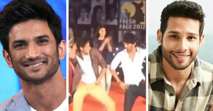 Siddhant Chaturvedi shares a video dancing with Sushant Singh Rajput on Chikni Chameli.