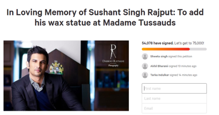 Fans demand Sushant Singh Rajput