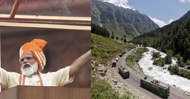 PM Modi Speech on  Ladakh