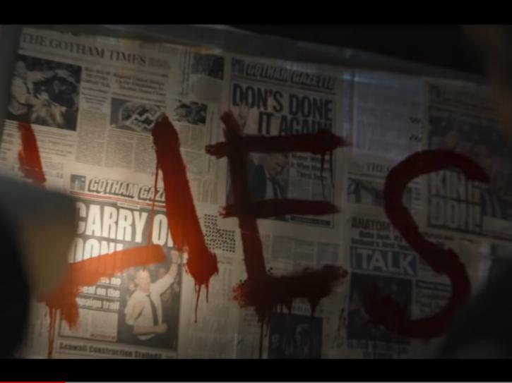 The Batman trailer - The Falcone-Maroni gang war
