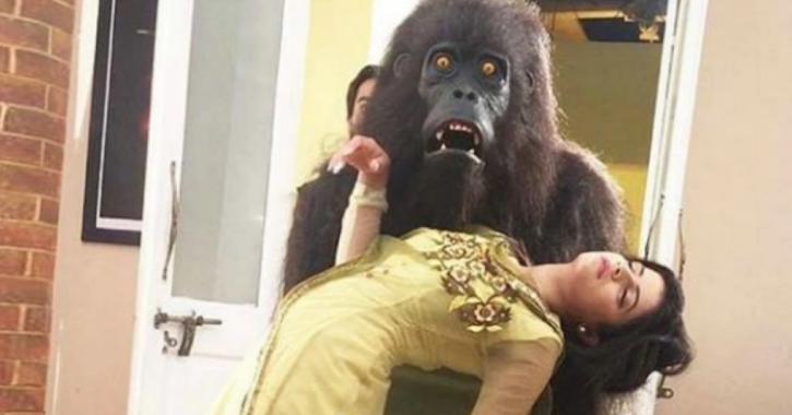 Thapki Pyar Ki Gorilla scene