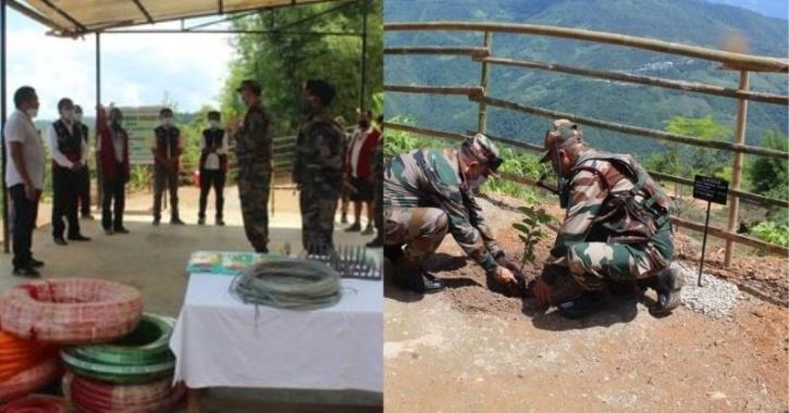 Assam Rifles, Fruit Sapling to help locals
