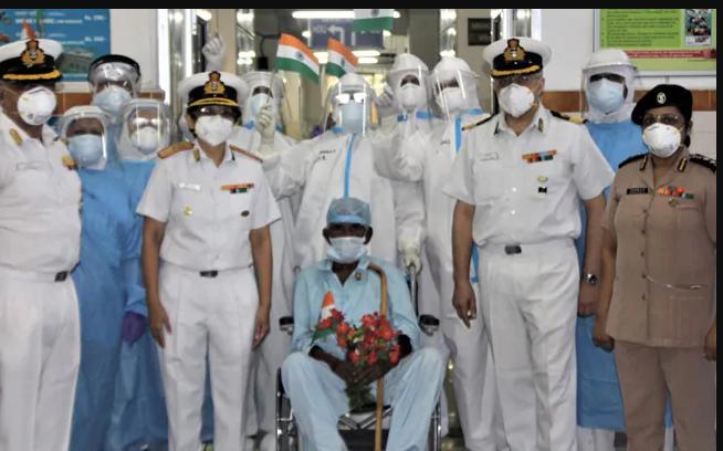 98-Year-Old War Veteran Defeats Coronavirus