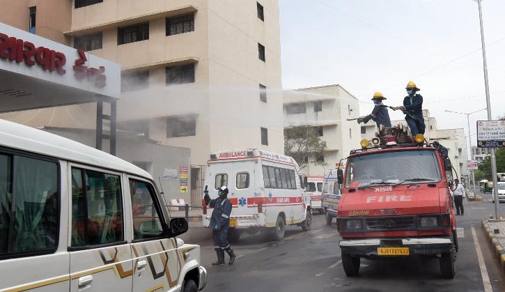 Ahmedabad hospital fire